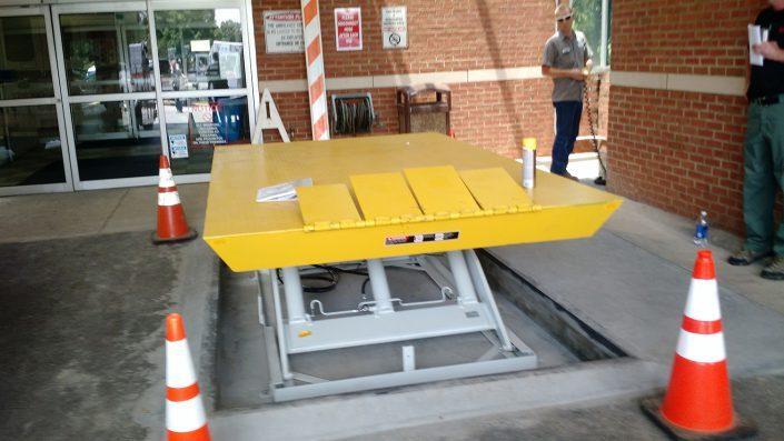 Catawba Hospital equipment lift