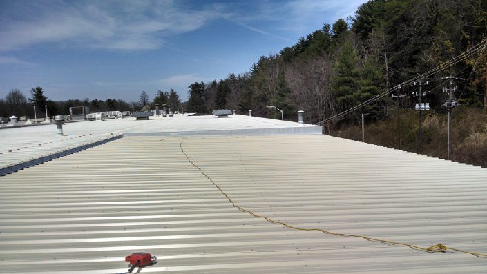 Eaton Crane Bay Roof Sheeting
