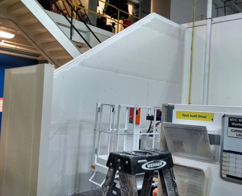 Eaton Drywall Stairs no Paint - general contracting work