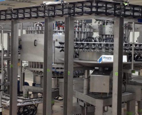 Highland Bottling Line in Asheville, North Carolina