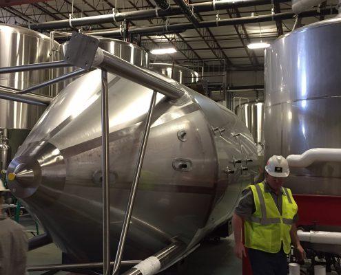 Highland Brewery Tank Rigging
