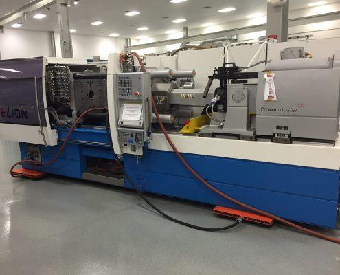 NYPRO Elion Rigging - Air Pallets Machine