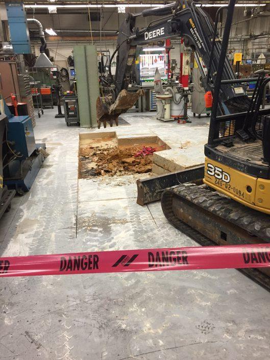 Tipper Tie Concrete Foundation