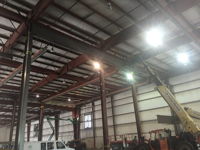 Tryon Steel Beam Installs